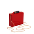 Lulu Guinness Women's Chloe Perspex Clutch Bag with Lipstick - Red: Image 3