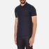 J.Lindeberg Men's Rubi Short Sleeve Polo Shirt - Navy: Image 2