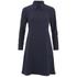 Wood Wood Women's Anita High Neck Dress - Dark Navy: Image 1