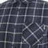 Carhartt Men's LS Sampras Shirt Rib-Knit Cuff - Labor Blue Heather: Image 3