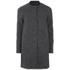 ONLY Womens Barbara Wool Coat - Dark Grey Melange: Image 1