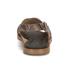 HUGO Women's Valenteen Snake Print Leather Crossover Sandals - Light/Pastel Brown: Image 3