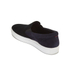 HUGO Men's Caslip Slip On Leather Trainers - Black: Image 5