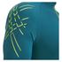 Asics Men's IM 1/2 Zip Running T-Shirt - Mosaic Blue: Image 6