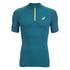 Asics Men's IM 1/2 Zip Running T-Shirt - Mosaic Blue: Image 1