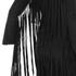 Lavish Alice Women's Suede Fringe Detail Mini Dress - Black: Image 4
