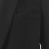 Helmut Lang Women's Pocket Detail Blazer - Black: Image 6