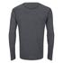 Merrell Geom Long Sleeve T-Shirt - Granite Heather/Black: Image 2