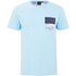 Rip Curl Men's Cruise Printed Chest Pocket T-Shirt - Light Blue: Image 1