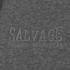 Salvage Men's Zip Through Hoody - Charcoal Marl: Image 3