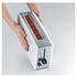 Graef 2 Slice Long Shot Toaster - White Gloss: Image 4