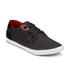 Boxfresh Men's Stern Waxed Canvas Low Top Trainers - Black/Red Chilli: Image 4
