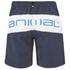 Animal Men's Banta Elasticated Waist Swim Shorts - Indigo Blue: Image 3