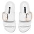 Senso Women's Kada Leather Double Strap Sandals - Ice: Image 2