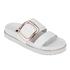 Senso Women's Kada Leather Double Strap Sandals - Ice: Image 5