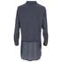 Vero Moda Women's Lotus Long Sleeve Long Shirt - Ombre Blue: Image 2