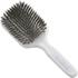 Kent AH13W AirHeadz Medium Pure Bristle Paddle Hair Brush - White: Image 1