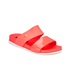 Melissa Women's Cosmic 15 Double Strap Slide Sandals - Coral: Image 5