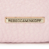 Rebecca Minkoff Women's Dome Pouch Cosmetic Case with Studs - Baby Pink: Image 3