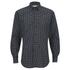 Vivienne Westwood MAN Men's Biscuit Shirting Classic Cut Away Shirt - Blue: Image 1