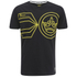 Crosshatch Men's Pegasus Print T-Shirt - Black: Image 1