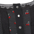 Marc by Marc Jacobs Women's Cherry Pindot Voile Dress - Black: Image 3