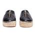 Alexander Wang Women's Devon Leather Espadrilles - Black: Image 4