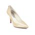 MICHAEL MICHAEL KORS Women's MK-Flex Mid Pump Patent Court Shoes - Nude: Image 4