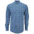 GANT Men's Matchpoint Poplin Check Shirt - Kelly Green: Image 1