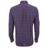 GANT Men's Tiebreak Twill Check Shirt - Mahogany Red: Image 2