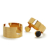 Marc by Marc Jacobs Women's Puzzle Cabochon Bangle - Gold: Image 1