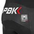 PBK Santini Replica Team Bib Tights - Red/White/Black: Image 4