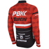 PBK Santini Replica Team Long Sleeve Jersey - Red/White/Black: Image 2