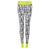 adidas Women's Stella Sport Gym Logo Tights - White: Image 1
