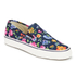 Polo Ralph Lauren Men's Mytton-Ne Slip on Trainers - Navy/Floral: Image 2