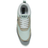 Polo Ralph Lauren Men's Ponteland Suede/Leather Trainers - White: Image 3