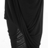 Selected Femme Women's Drape Dress - Black: Image 5