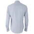 Vivienne Westwood MAN Men's Classic Stretch Stripe Long Sleeve Shirt - Blue Stripe: Image 2