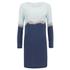 2NDDAY Women's Rothko Printed Dress - Navy Blazer: Image 1