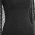 Lavish Alice Women's Lace Cape Mini Shift Dress - Black: Image 4