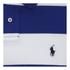 Polo Ralph Lauren Men's Short Sleeve Slim Fit Striped Polo Shirt - Royal/White: Image 3