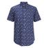 Polo Ralph Lauren Men's Printed Short Sleeve Shirt - Blue: Image 1