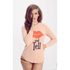 Wildfox Women's Girlfriends T Kiss And Tell Long Sleeve Top - Cotton Candy: Image 2