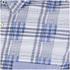 BOSS Green Men's Bicron Check Shirt - Medium Blue: Image 3