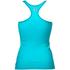 Better Bodies Women's N.Y Rib T-Back Tank Top - Aqua Blue: Image 2