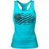 Better Bodies Women's N.Y Rib T-Back Tank Top - Aqua Blue: Image 1