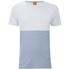 BOSS Orange Men's Tuomo Striped T-Shirt - White: Image 1