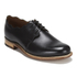 Grenson Women's Dulcie Leather Wave Top Derby Shoes - Black: Image 5