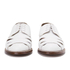 Grenson Women's Wilma Grain Leather Flats - White: Image 4