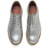 Grenson Women's Emily V Grain Leather Brogues - Silver: Image 2